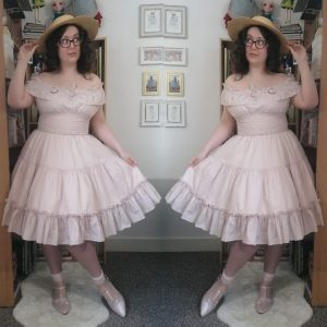 Victorian Maiden boatneck blouseless coord