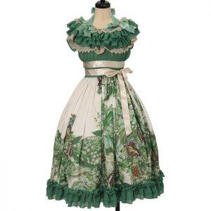 Triple Fortune boatneck dress